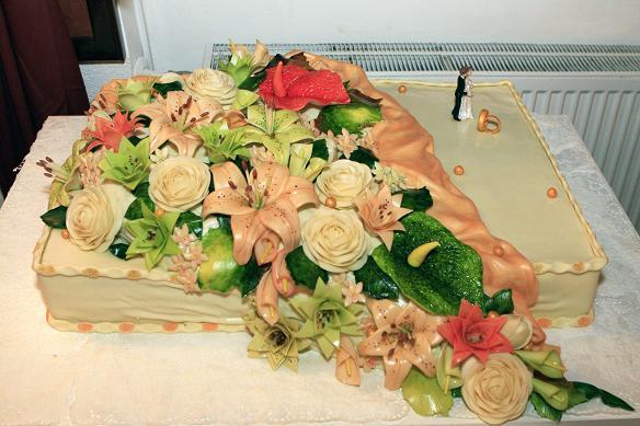 Zuzana Dilova{{_AND_}}Jaroslav Navojsky - Nasa krasna 50kg svadobna torta