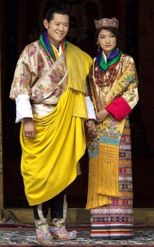 Kráľovské svadby - kráľ Jigme Khesar Namgyel z butánu + Jetsun Pema / 13. október 2011