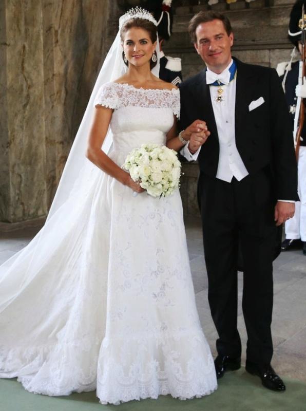 Kráľovské svadby - princezná madeleine zo švédska + Chris O'Neill / 8. jún 2013 ... šaty: Valentino