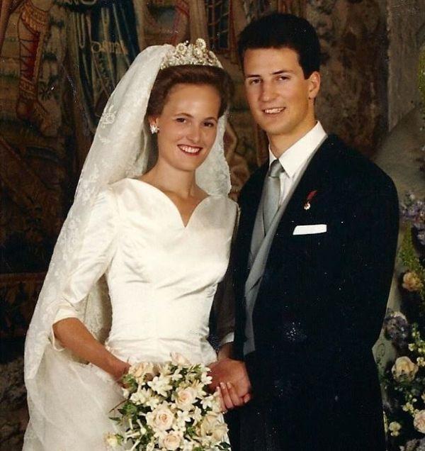 Kráľovské svadby - princ alois z Lichtenštajnska + vojvodkyňa Sophie z Bavorska / 3. júl 1993