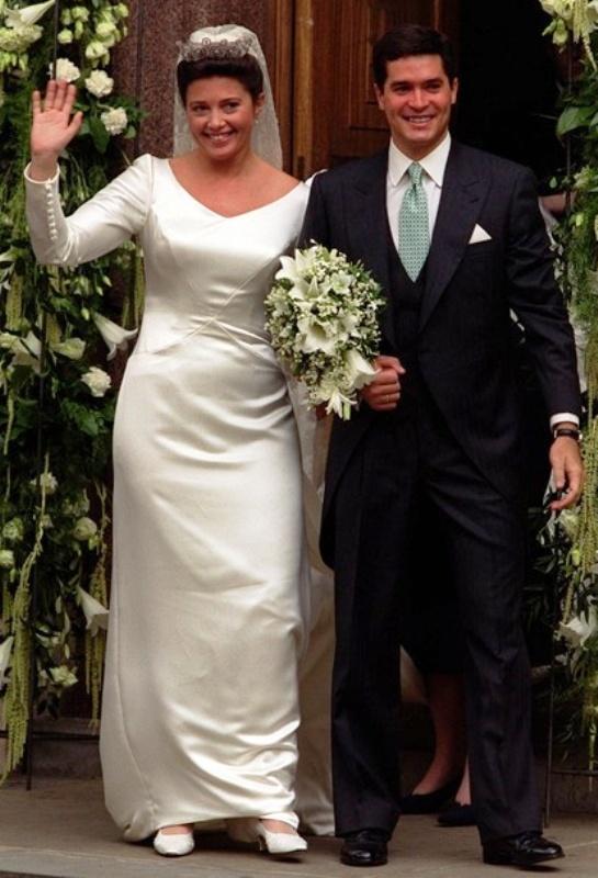 Kráľovské svadby - Princezná Alexia z Grécka + Carlos Morales Quintana / 9. júl 1999
