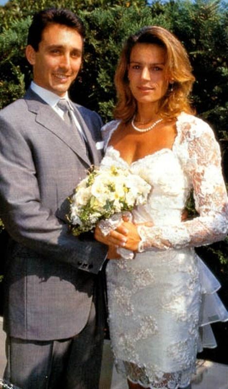 Kráľovské svadby - Princezná Stephanie z Monaka + Daniel Ducruet / 1. júl 1995