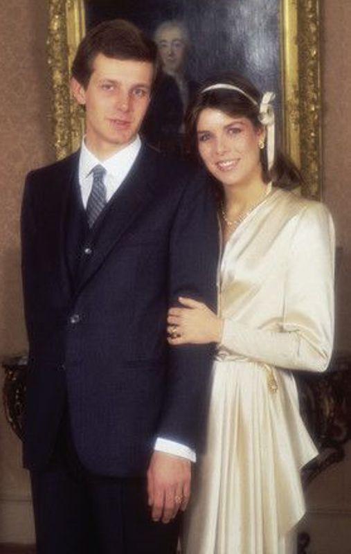 Kráľovské svadby - Princezná Caroline z monaka + Stefano Casiraghi / 29. december 1983