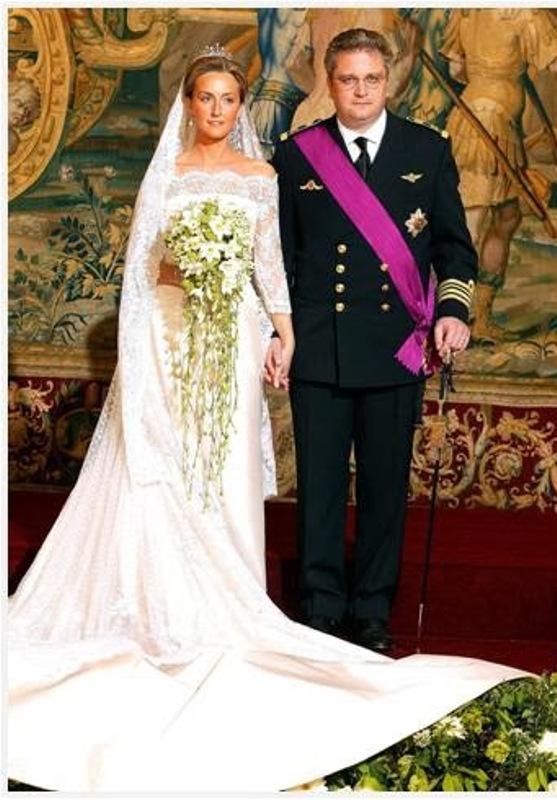 Kráľovské svadby - Princ Laurent z Belgicka + Claire Coombs / 12. apríl 2003