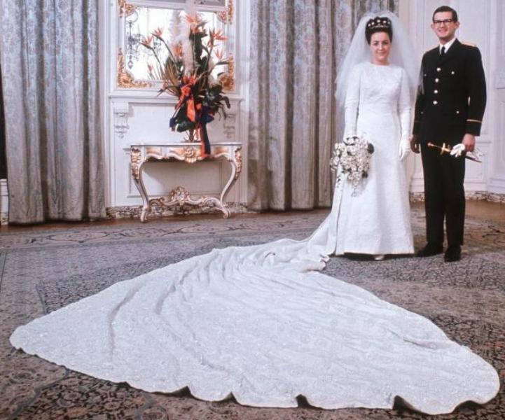 Kráľovské svadby - Princezná Margriet z holandska + Pieter van Vollenhoven / 10. Január 1967