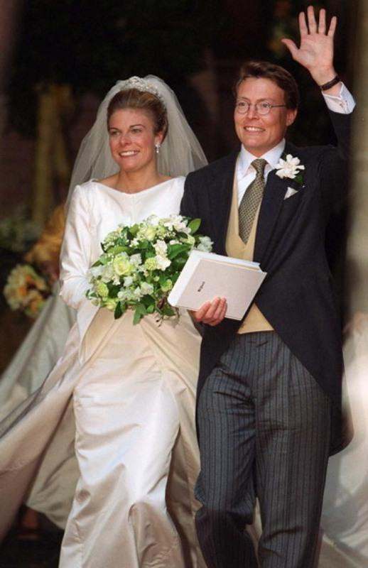 Kráľovské svadby - Princ Constantijn z Holandska + Laurentien Brinkhorst  / 19. Máj 2001