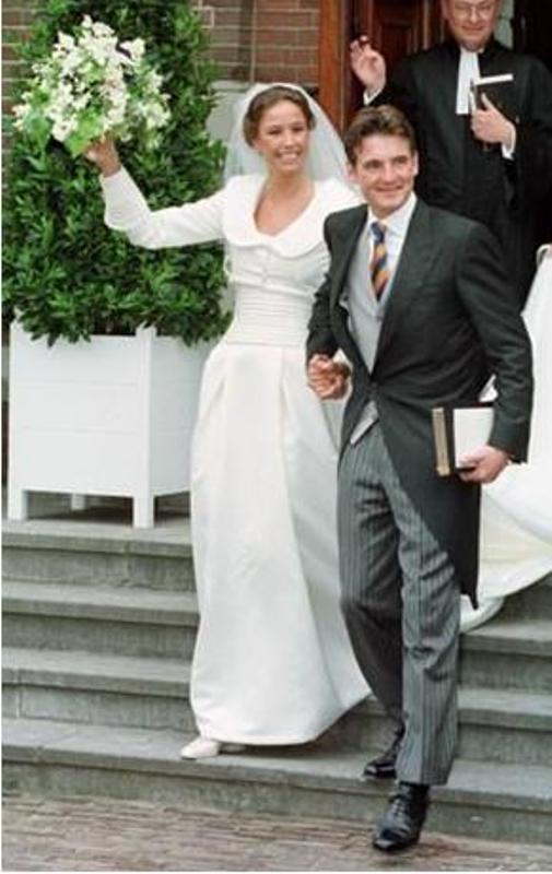 Kráľovské svadby - Princ Maurits z holandska + Marilène van den Broek / 30. máj 1998