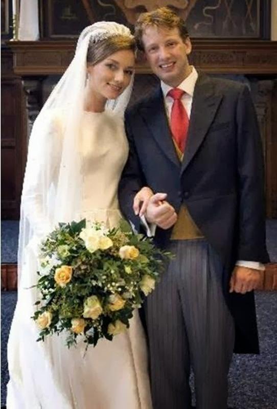 Kráľovské svadby - Princ Floris z holandska +  Aimée Söhngen / 22. Octóber 2005