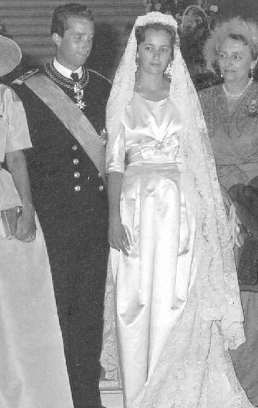 Kráľovské svadby - Princ Albert z belgicka + Paola Ruffo di Calabria / 2. júl 1959