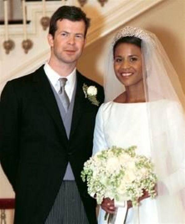 Kráľovské svadby - Princ Maximillian z Liechtenštajnska + Angela Gisela Brown / 29. Január 2000