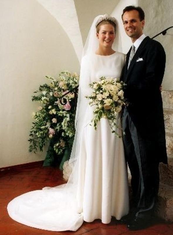 Kráľovské svadby - princezná Tatjana z Lichtenštajnska + Baron Philipp von Lattorff / 5. jún 1999