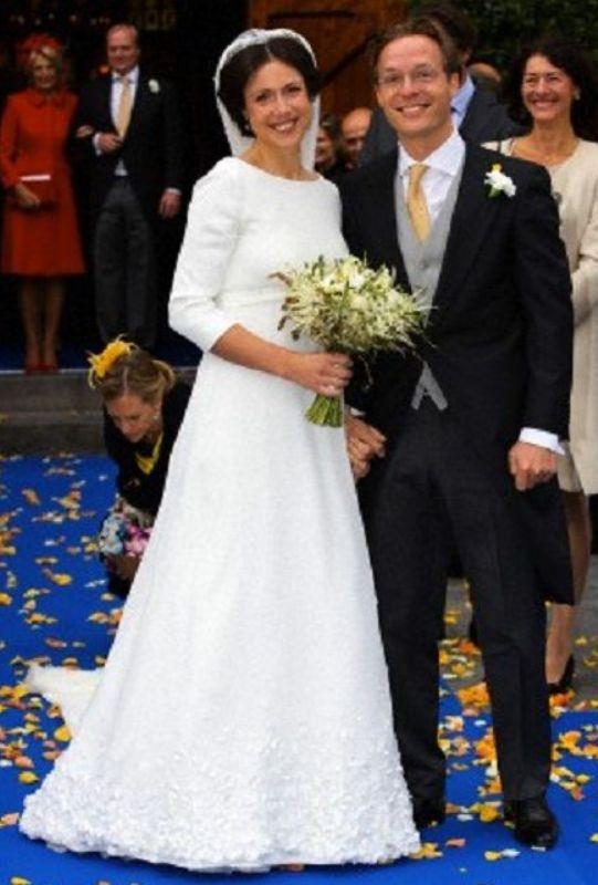 Kráľovské svadby - Victoria Cservenyak + Princ Jaime de Bourbon de Parma / 05.10.2013
