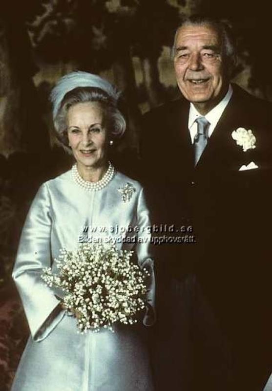 Kráľovské svadby - Lillian Davis + Prince Bertil zo švédska / 1976.