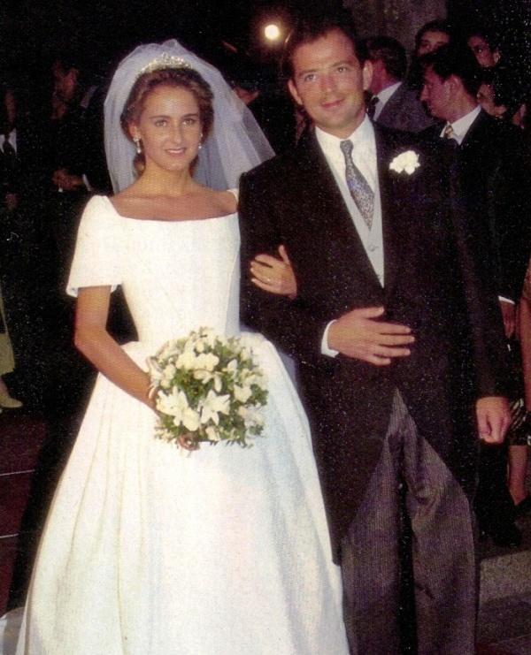 Kráľovské svadby - Princ Kubrat z bulharska + Doña Carla María de la Soledad Royo - Villanova y Urrestarazu /