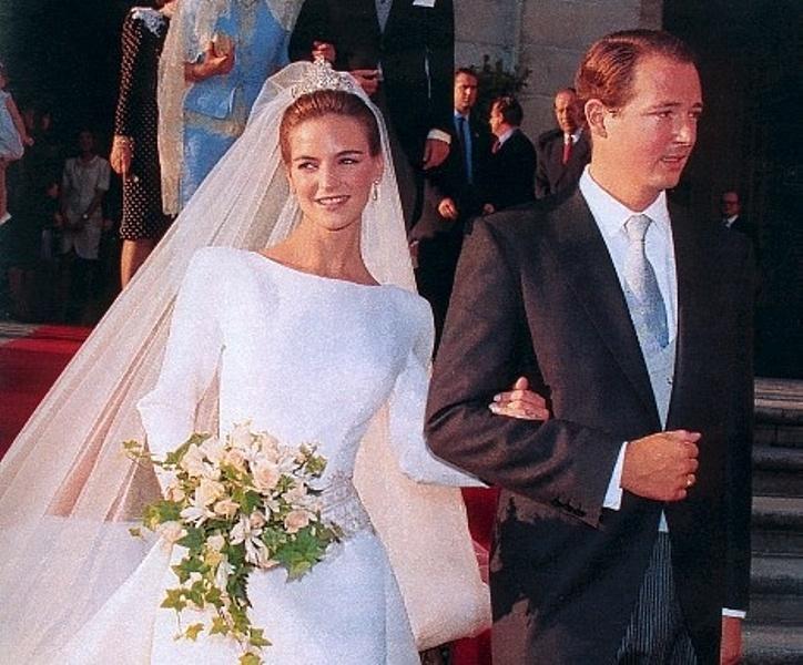 Kráľovské svadby - Princ Konštantín - Assen z bulharska + Doña María García de la Rasilla y Gortázar / 07.08.1994