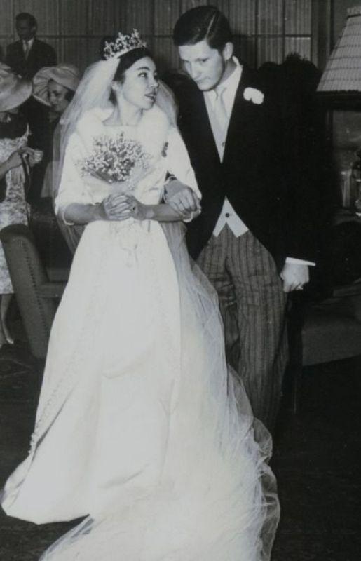 Kráľovské svadby - Simeon II. z  Bulharska + Doña Margarita Gómez-Acebo y Cejuela / 21.01.1962