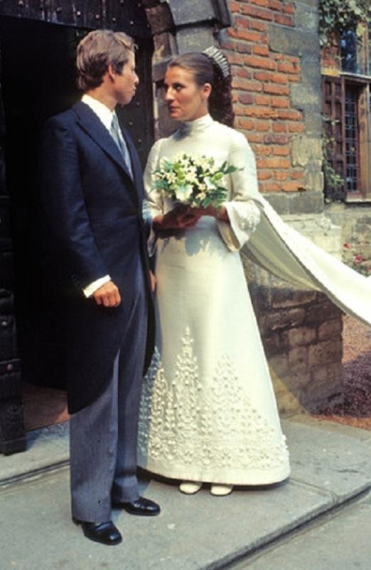 Kráľovské svadby - Princ Philip z Lichtenštajnska + Isabelle de l'Arbre / 11.09.1971
