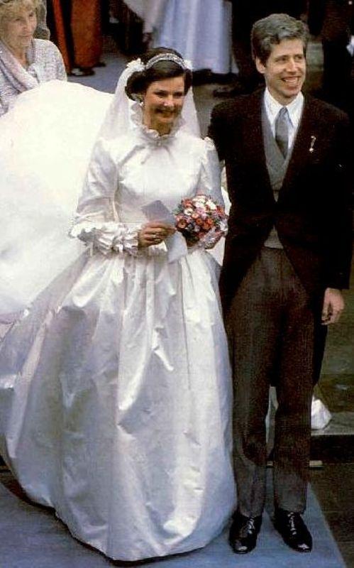 Kráľovské svadby - Princ Nikolaus z Lichtenštajnska + , Princezná Margaretha z Luxemburska / 20.03.1983