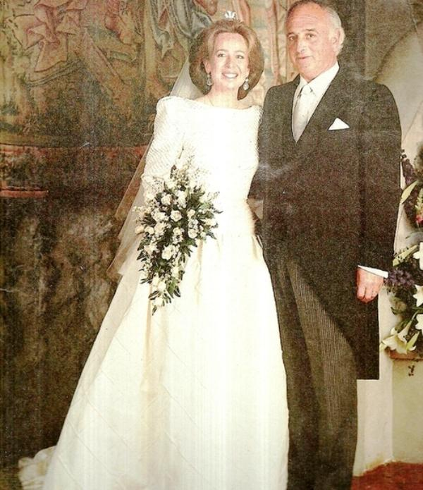 Kráľovské svadby - Princezná Nora z Liechtenštajnska + Don Vicente Sartorius y Cabeza de Vaca / 11.06.1988