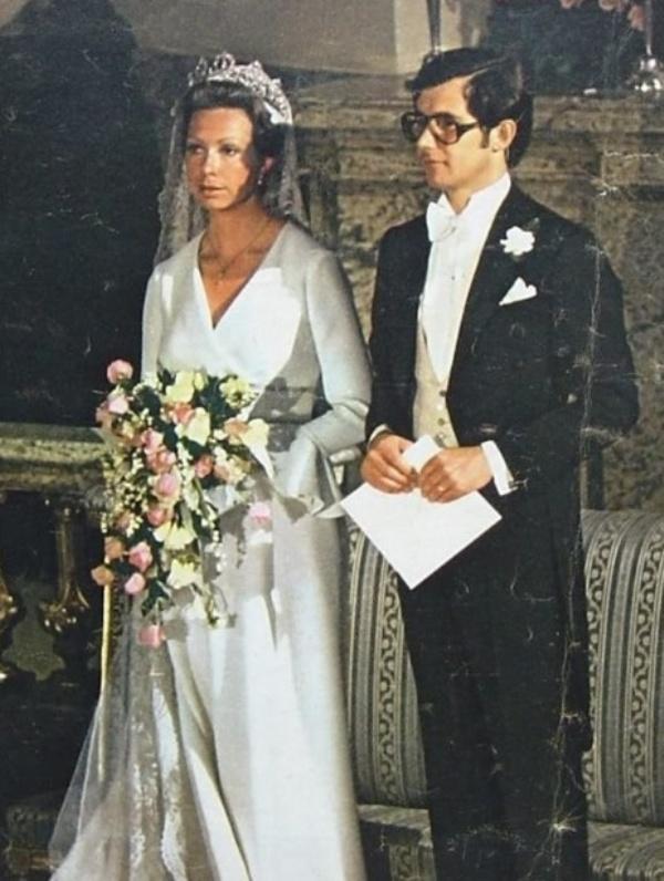 Kráľovské svadby - Princezná Christina zo švédska + Tord Magnuson / 15. jún 1974