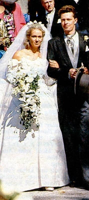 Kráľovské svadby - Princezná Desiree Hohenzollern + gróf Heinrich Ortenburg / 6. október 1990