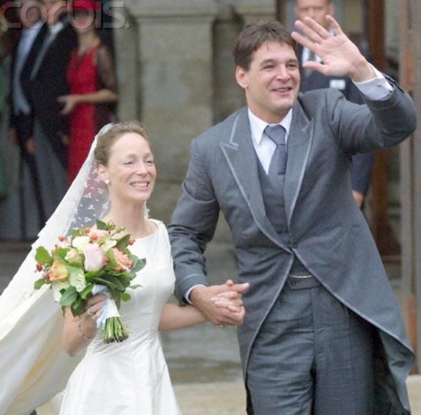 Kráľovské svadby - Princezná Margarita Bourbon - Parma +  Edwin Karel Willem de Roy van Zuydewijn / 19. jún 2001
