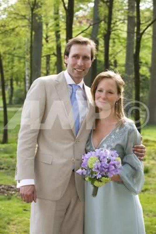 Kráľovské svadby - Princezná Margarita Bourbon-Parma + Tjalling Siebe Ten Cate / 03.05.2008