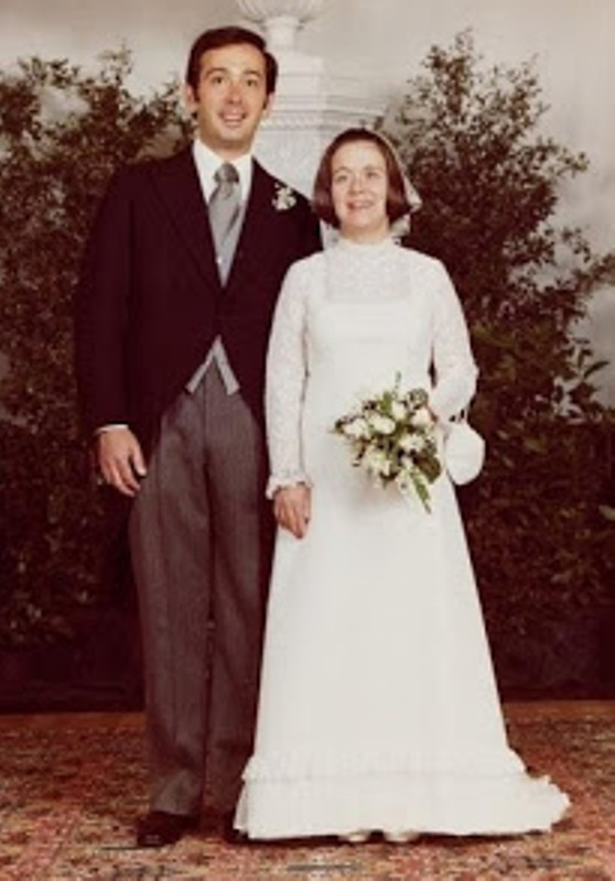 Kráľovské svadby - Princezná Christina z holandska + Jorge Guillermo / 1975