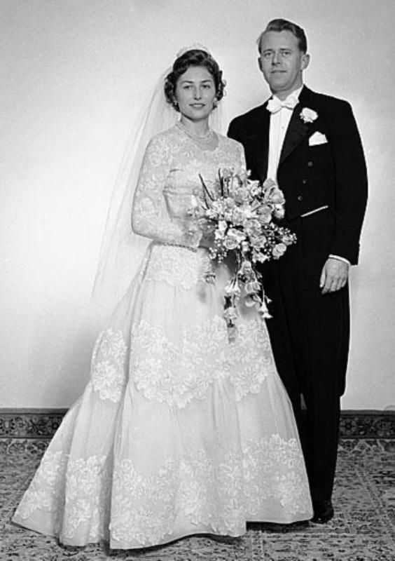 Kráľovské svadby - Princezná Astrid z nórska + Johan Martin Ferner / 12. Január 1961