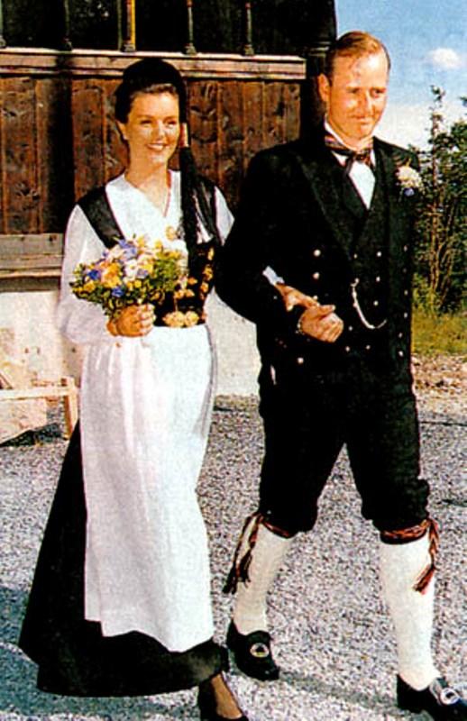 Kráľovské svadby - alexander ferner z nórska + Margret Gudmundsdottir / 1996