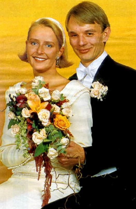 Kráľovské svadby - Elisabeth Ferner z nórska + Tom Folke Beckman / 1992