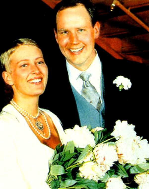 Kráľovské svadby - Benedikte Ferner z nórska +  Rolf Woods  / 1994