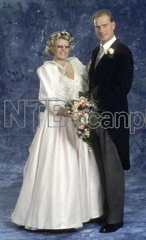 Kráľovské svadby - Cathrine Ferner z nórska +  Arild Johansen / 1989