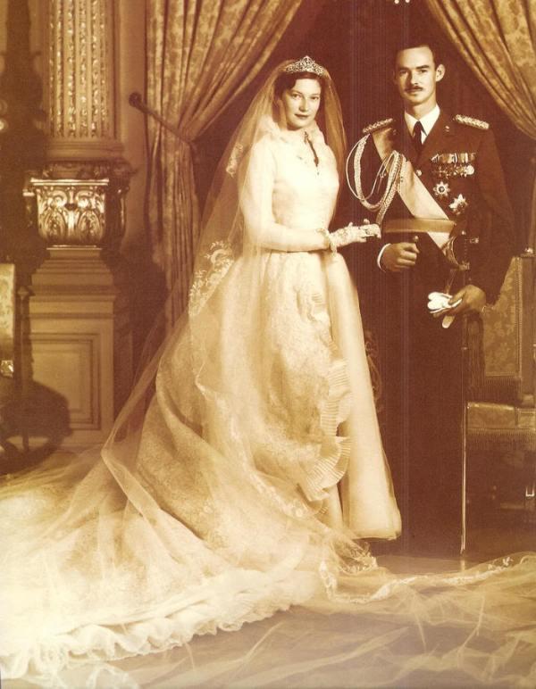 Kráľovské svadby - Jean, veľkovojvoda z luxemburska + Joséphine-Charlotte of Belgium / 09.04.1953