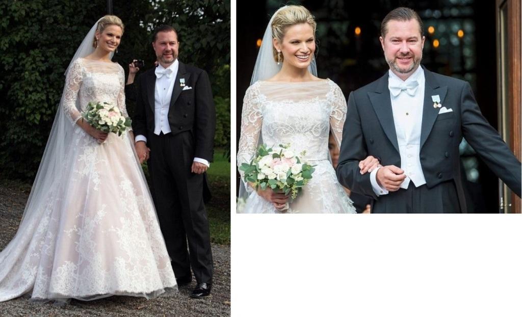 Kráľovské svadby - Gustaf Magnuson zo švédska + Vicky Andren / 31. August 2013