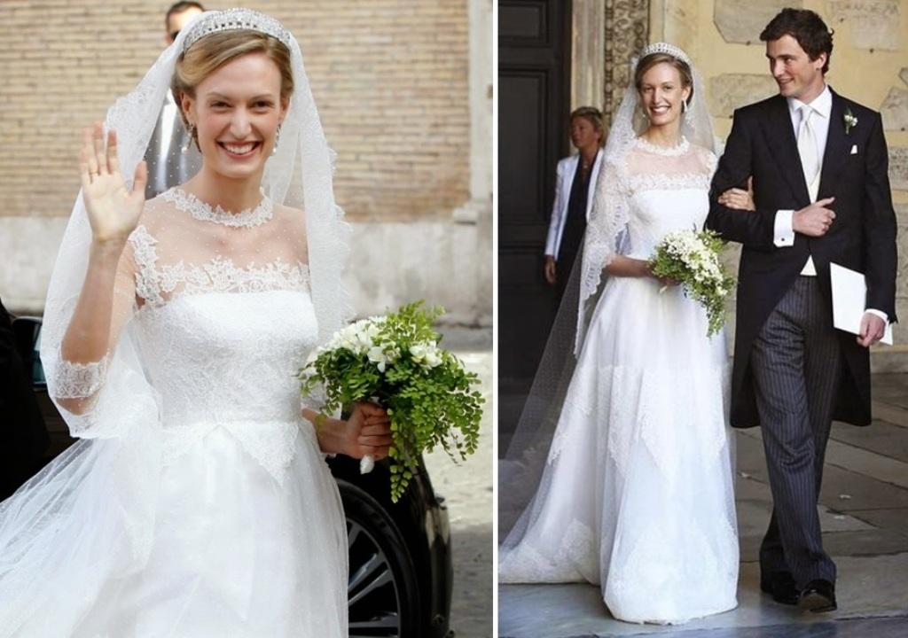 Kráľovské svadby - Princ Amedeo z Belgicka + Elisabetta Maria Rosboch von Wolkenstein / 05.07.2014