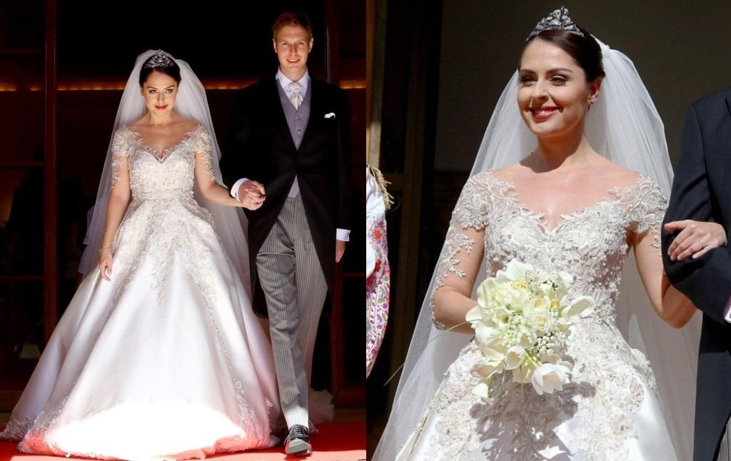 Kráľovské svadby - Princ Leka II. z albánska + Elia Zaharia/08.10.2016
