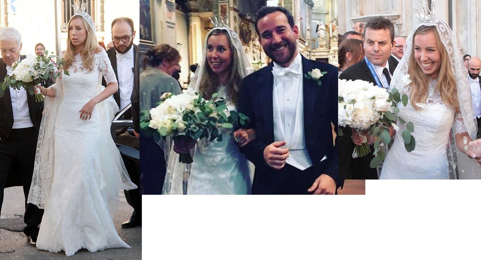 Kráľovské svadby - 8. júl 2017 / Astrid Bernadotte zo švédska + Filippo Bruti Liberati
