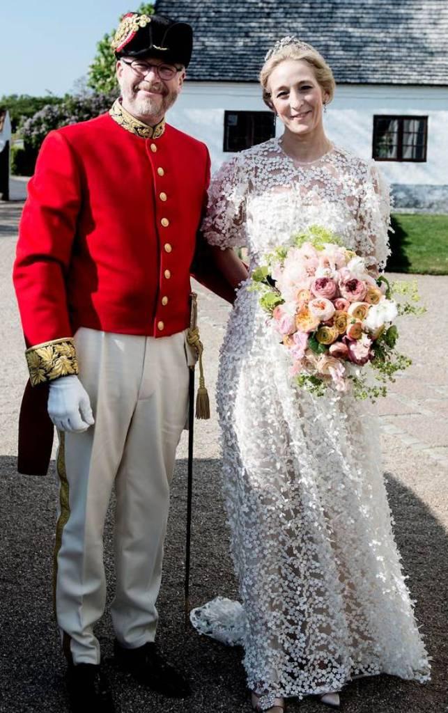 Kráľovské svadby - princezná Alexandra Sayn-Wittgenstein-Berleburg+gróf Michael Ahlefeldt-Laurvig-Bille / 18. máj 2019