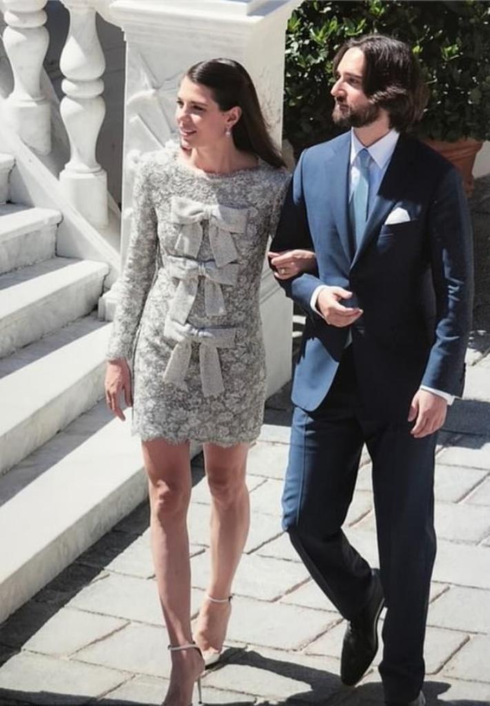 Kráľovské svadby - CIVILNÝ SOBÁŠ: Carlota Casiraghi Z MONAKA + Dimitri Rassam / 01.06.2019