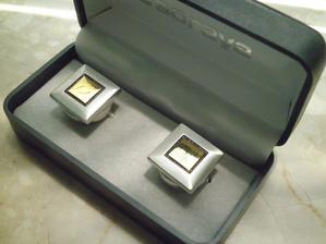 ...manžetky klipsy pre môjho drahého :-)...