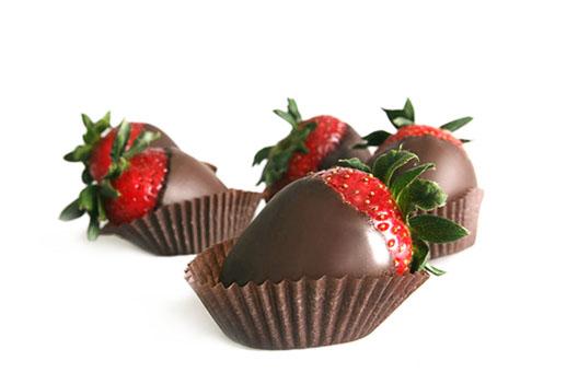 Moje predstavy :) - Jahôdky v čokoláde, mňam :)