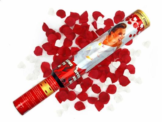 Svadobné centrum Valentíny - konfetti rôznych farieb