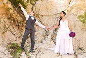 svatební šaty 48- 52, 52