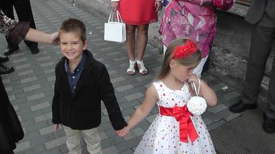 Mládenec a družička :)