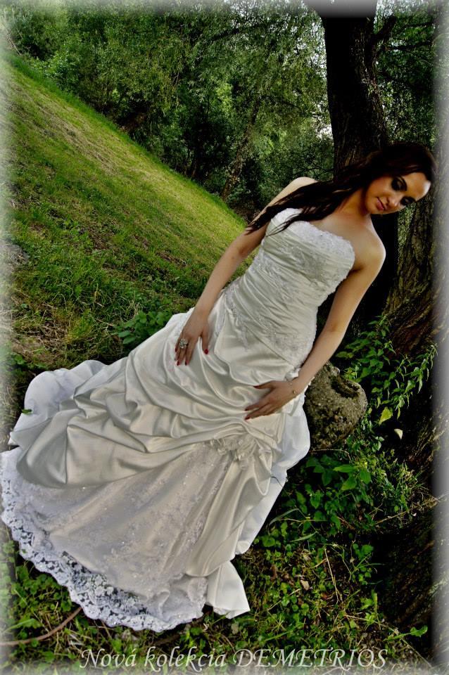 Pripravujeme sa na deň D :) - tieto šaty budem požičiavať na svadbu :)