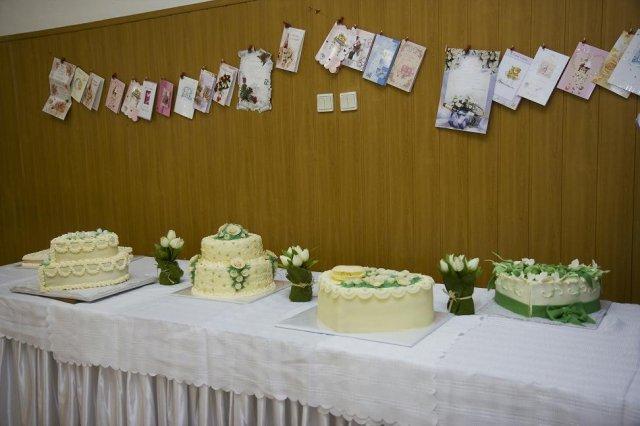 Janka a Jojo - naše tortičky - všetky sa nám tam bohuzial nezmestili - bolo ich 10