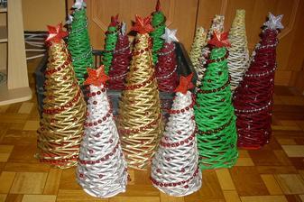 moje stromčeky z papiera....:-) nemá niekto záujem? chi :-)
