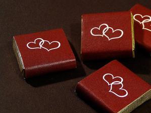 Čokoládky pro hosty :D
