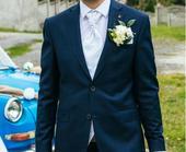Svadobná vesta, kravata, vreckovka-Paco Romano - M, 46
